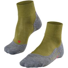 Falke TK5 Short Trekking Socks Men aspengreen